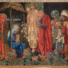 Tapițerie Adorația Magilor - după un desen de Burne Jones Fabrica Morris