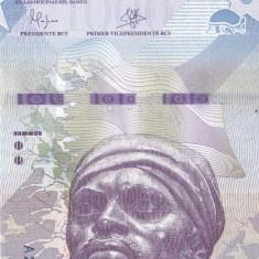 Bancnota Venezuela 1.000 Bolivares 2016 (2017) - PNew UNC - bancnota america