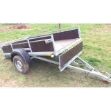 Remorci/Remorca 2.4 m x 1, 25/1.35 m, sarcina max 750 kg – Axel Triler 135 Tego - Utilitare auto