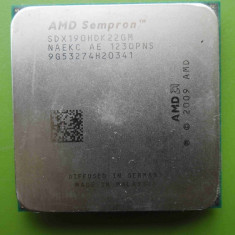 Procesor AMD Sempron x2 190 Dual Core 2.5GHz socket AM2+ - DEFECT