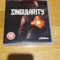 PS3 Singularity - joc original by WADDER - Jocuri PS3 Activision, Shooting, 18+, Single player