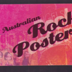 Australia 2006 - Australian Rock Posters, carnet filatelic - Timbre straine