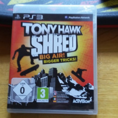 PS3 Tony Hawk Shred / Joc si controler-placa - joc original by WADDER - Jocuri PS3 Activision, Simulatoare, 3+, Multiplayer