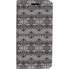 Husa de protectie Tellur Folio pentru Samsung S7 Edge Black&White, Samsung Galaxy S7 Edge, Piele Ecologica