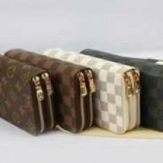 PORTOFELE DUBLE LOUIS VUITTON NEW MODEL CALITATE GARANTATA/FRANCE - Portofel Dama Louis Vuitton, Culoare: Din imagine