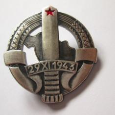 Insigna granicer JNA-armata iugoslava anii 80