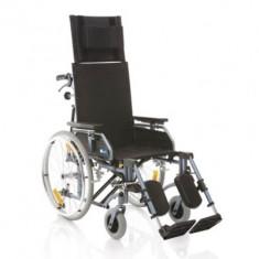 Fotoliu rulant pliabil pentru transport pacienti MCP810 - Scaun cu rotile