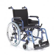 Fotoliu rulant pliabil cu structura usoara din aluminiu MCP750 - Scaun cu rotile