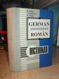 EMILIA SAVIN - DICTIONAR GERMAN-ROMAN * ED. REVIZUITA DE IOAN LAZARESCU - 1997