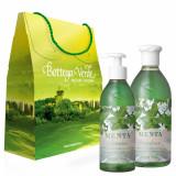 Set cadou - Gel de dus si sapun lichid cu menta - Bottega Verde