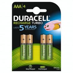 Acumulator Duracell AAAK4 800mAh 4buc Verde - Baterie Aparat foto