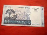 Bancnota 100 ariary = 500 Fr. 2004 Madagascar