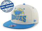Sapca '47 St Louis Blues - originala - flat brim - snapback - oficiala NHL, Marime universala, Din imagine