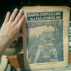 Ziarul stiintelor si al calatoriilor anul XXXVII Nr. 6 Marti 7 Februarie 1933