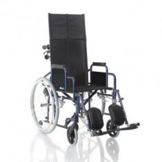 Fotoliu rulant pliabil pentru transport pacienti MCP800 - Scaun cu rotile