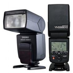 Blitz Yongnuo YN568EX N blitz i-TTL (Nikon), GN 58 wireless slave - Blitz dedicat
