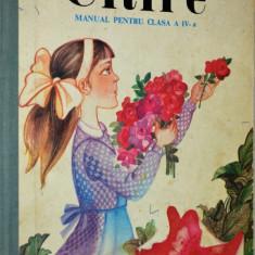 Manual de citire pentru clasa a IV- a - 1987 - Manual scolar, Clasa 3, Romana