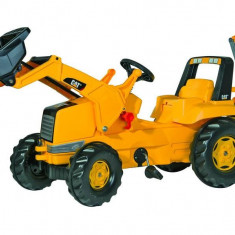 Tractor Cu Pedale Copii ROLLY TOYS 813001 Galben - Vehicul