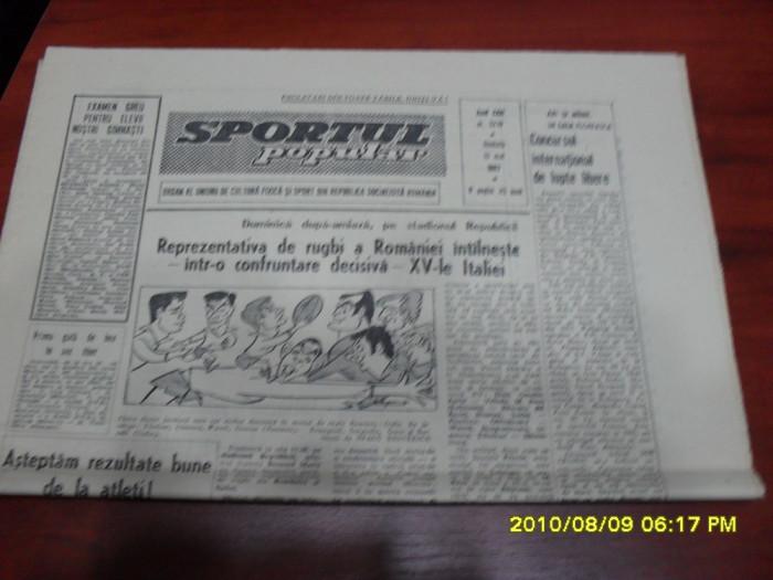 Ziar      Sportul  popular     13   05  1967