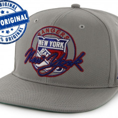 Sapca '47 New York Rangers - originala - flat brim - snapback - oficiala NHL