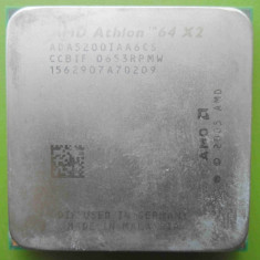 Procesor AMD Athlon 64 x2 5200+ Dual Core 2.6GHz socket AM2 - DEFECT