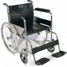 Fotoliu rulant cu vas WC inclus MFC21 - Scaun cu rotile