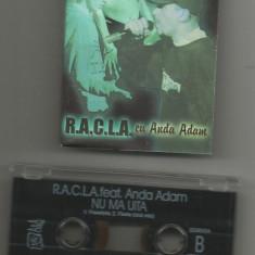 A(02) Caseta audio-R.A.C.L.A.-Anda Adam-Nu ma uita - Muzica Hip Hop, Casete audio