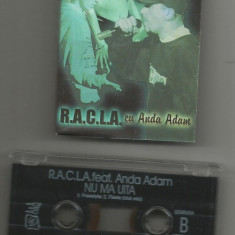 A(02) Caseta audio-R.A.C.L.A.-Anda Adam-Nu ma uita - Muzica Hip Hop Altele, Casete audio