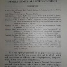 Aromani, BULETINUL INST. DE FILOLOGIE ROMANA, 1934, aromani, istroromani... - Carte Editie princeps