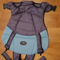 Marsupiu bebe + ham bebe - Marsupiu bebelusi, Multicolor