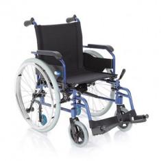 Fotoliu rulant pliabil cu structura usoara din aluminiu MCP740 - Scaun cu rotile