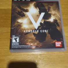 PS3 Armored core 5 - joc original by WADDER - Jocuri PS3 Namco Bandai Games, Actiune, 12+, Single player