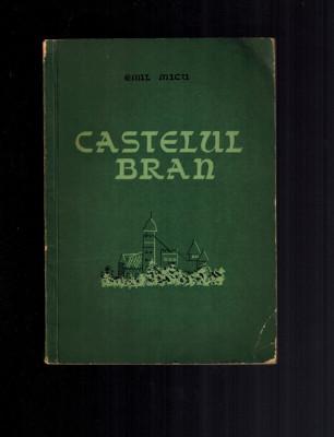 Castelul Bran - Emil Micu, privire istorica, 1957 foto