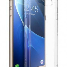 Husa Protectie Spate Ringke Fusion Crystal Clear pentru Samsung Galaxy J7 2016 plus folie Invisible Screen Defender - Husa Telefon