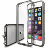 Husa Protectie Spate Ringke FUSION Smoke Black plus folie protectie pentru Apple iPhone 6/6S - Husa Telefon