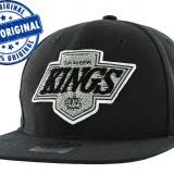 Sapca '47 LA Kings - sapca originala - flat brim - snapback - oficiala NHL - Sapca Barbati, Marime: Marime universala, Culoare: Negru