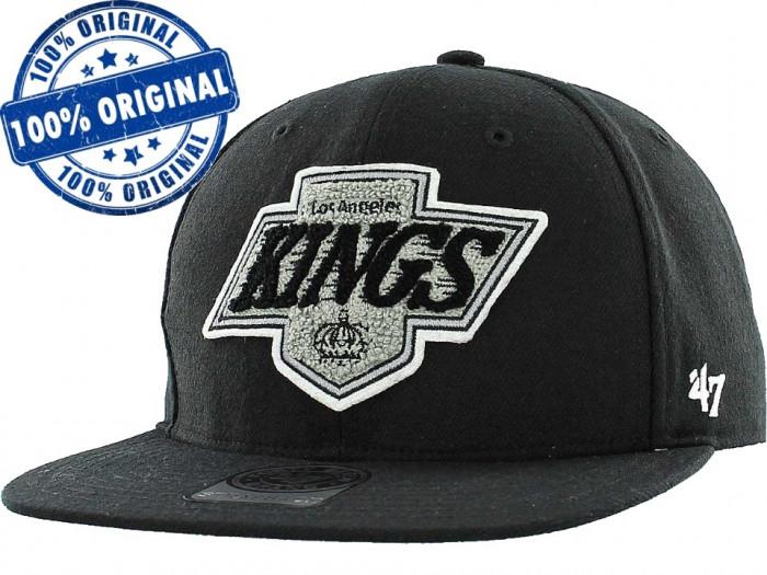 Sapca '47 LA Kings - sapca originala - flat brim - snapback - oficiala NHL foto mare