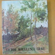 Victor Mihailescu Craiu album pictura Bucuresti 1984 50 ilustratii