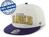 Sapca '47 LA Kings - sapca originala - flat brim - snapback - oficiala NHL, Marime universala, Din imagine