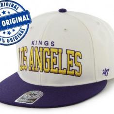 Sapca '47 LA Kings - sapca originala - flat brim - snapback - oficiala NHL - Sapca Barbati, Marime: Marime universala, Culoare: Din imagine