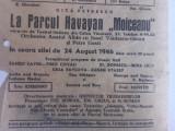 "PLIANT RECLAMA  ""O SEARA"", 1946 /MARLENE DEITRICH, IOANA RADU,GICA PETRESCU..."
