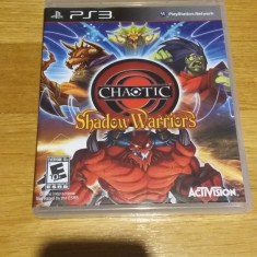 PS3 Chaotic shadow warriors - joc original by WADDER - Jocuri PS3 Activision, Board games, 12+, Multiplayer