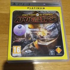 PS3 Motorstorm Apocalypse Platinum / 3D compatibil - joc original by WADDER - Jocuri PS3 Activision, Curse auto-moto, 16+, Multiplayer