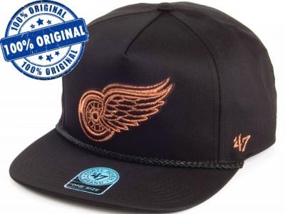 Sapca '47 Detroit Red Wings - originala - flat brim - snapback - oficiala NHL foto