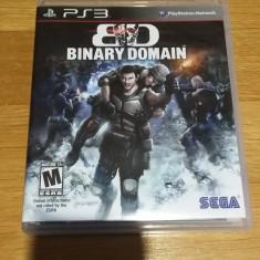 PS3 Binary Domain - joc original by WADDER - Jocuri PS3 Sega, Shooting, 16+, Single player