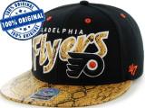 Sapca '47 Philadelphia Flyers - originala - flat brim - snapback - oficiala NHL, Marime universala, Din imagine