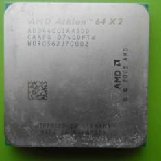 Procesor AMD Athlon 64 x2 4400+ Dual Core 2.3GHz socket AM2 - DEFECT - Procesor PC AMD, Numar nuclee: 2, 2.0GHz - 2.4GHz