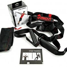 Aparat fitness TRX - STRAP TRAINING – eficient si rezistent – Nou - Extensor Fitness