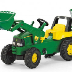 Tractor Cu Pedale Copii ROLLY TOYS 811076 Verde - Vehicul
