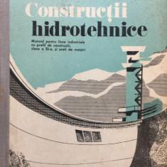 CONSTRUCTII HIDROTEHNICE Manual clasa a XI-a - Filotti, Antoniu, Boghiu